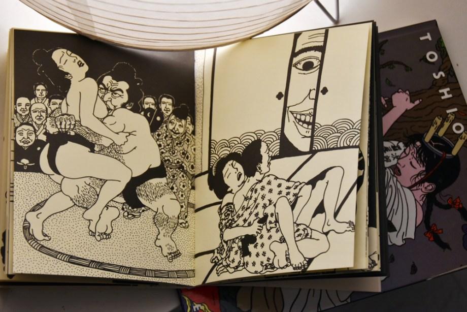 Les premiers dessins deToshio Saeki
