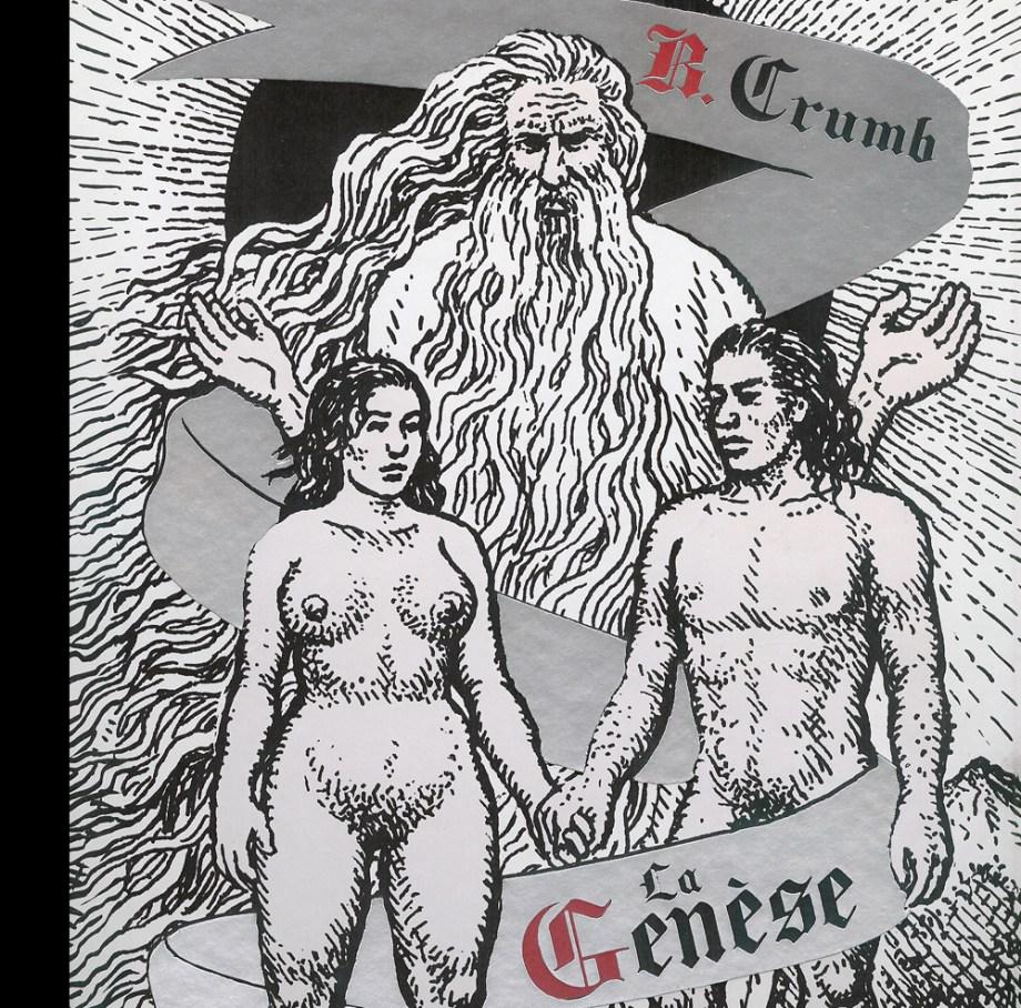 Genèse en bande dessinée : Robert Crumb à la mise en scène