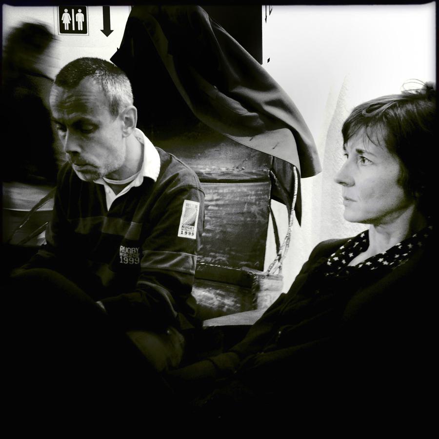 Fabrice Neaud et Céline Guichard