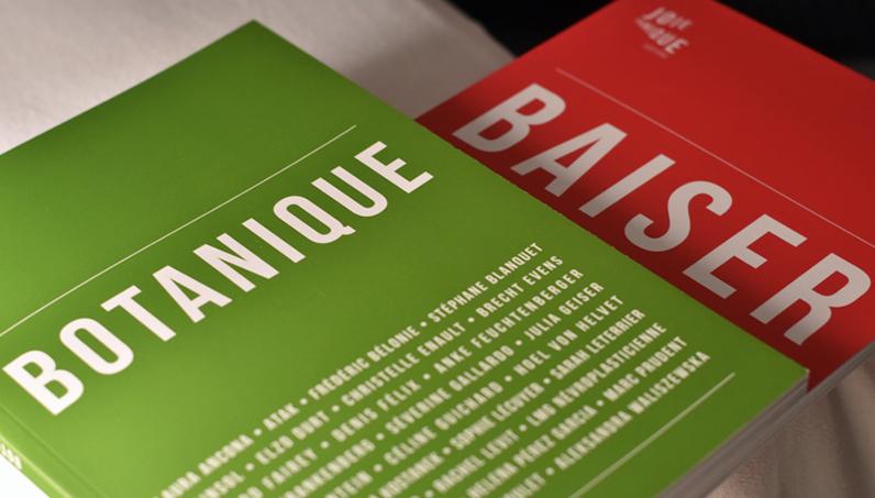 «BOTANIQUE» & «BAISER» 2 Joie Panique  d'un coup