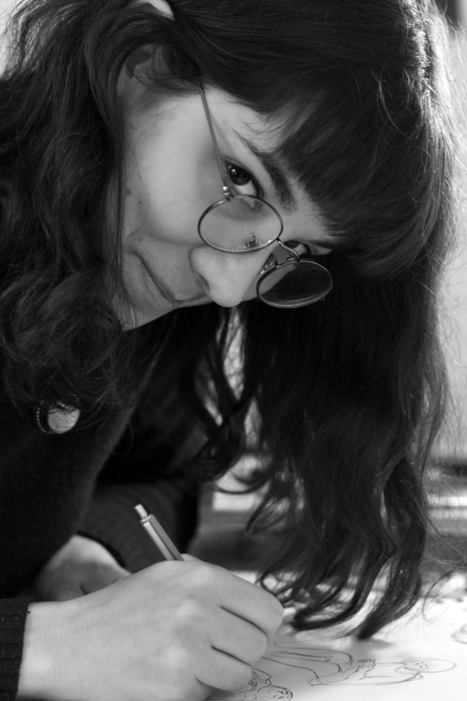 Portrait :  Mathilde Laillet