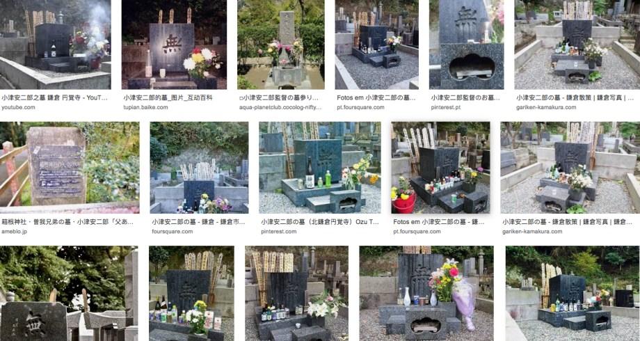 La tombe d'Ozu