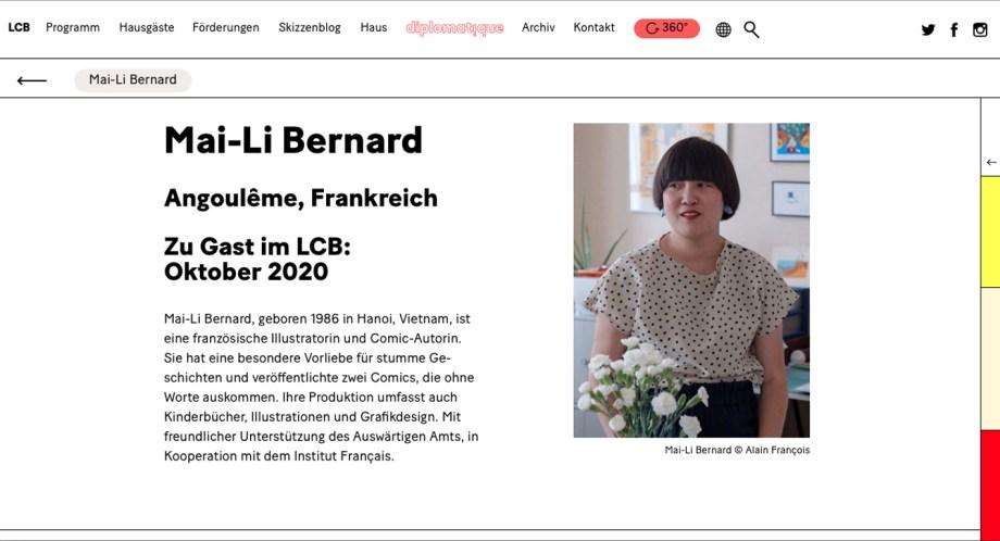 Mai Li Bernard à Berlin