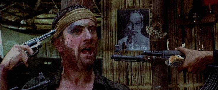 Robert De Niro in The Deer Hunter - one of the best Vietnam war movies ever