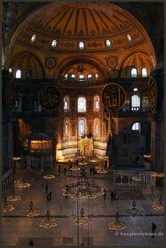 the Hagia Sofia