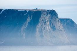 Nordkapp von See aus