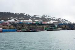 Hafen von Barentsburg