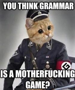 image représentant un nazi de l'orthographe