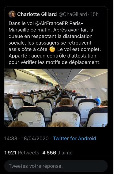 l'avion et le monde d'après