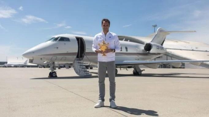 Sport avec Roger Federer