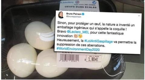 Name and Shame de Brune Poirson avec Leclerc