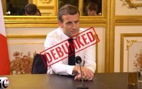 COVER Emmanuel Macron