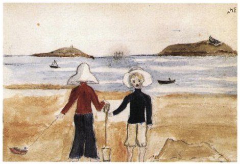 'Untitled (Two Boys at the Seaside)'