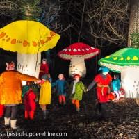 Sur les Sentiers de Noël, à Osthouse au sud de Strasbourg