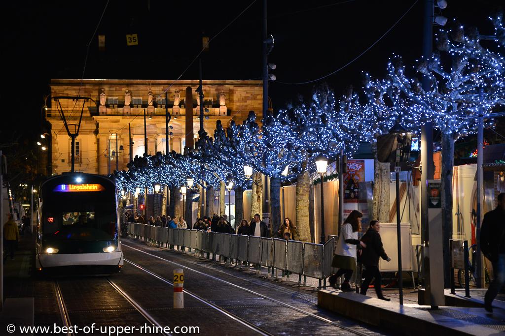 Le tram vous emmène presque partout à Strasbourg.
