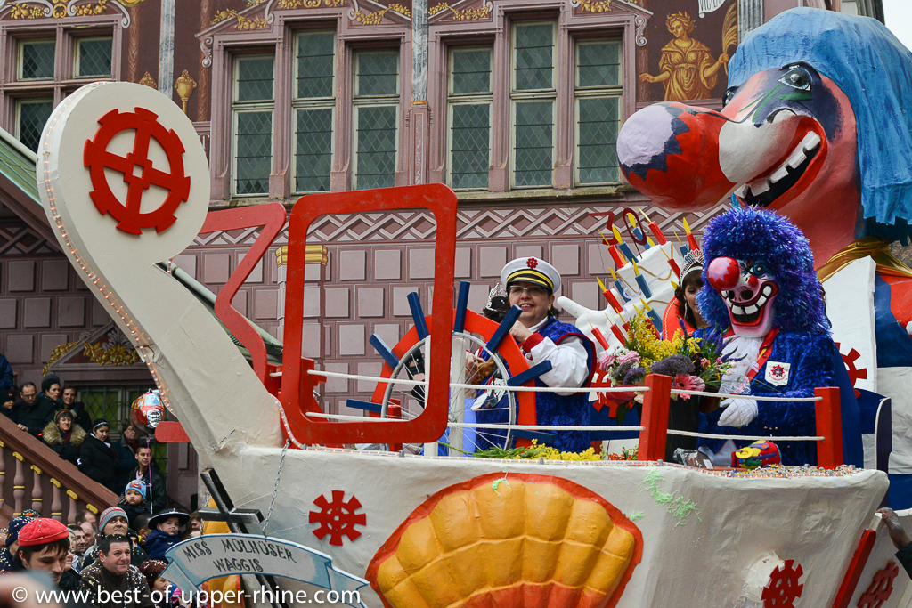 Cavalcade internationale de Mulhouse - 2013