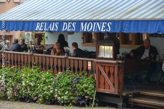 Restaurant Relais des Moines à Riquewihr