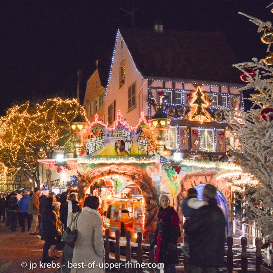 Magie de Noël à Colmar. 5 marchés de Noël vous attendent du 21 novembre au 31 décembre 2014.