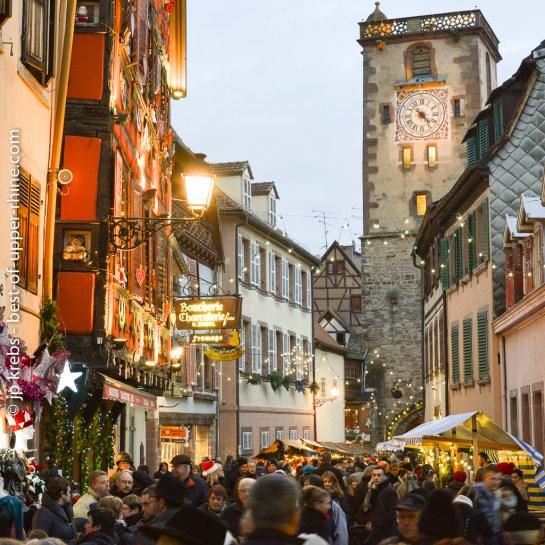 Au marché de Noël médiéval de Ribeauvillé