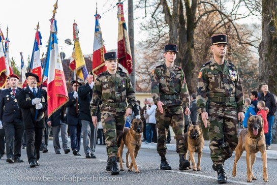Commémoration du centenaire de l'arrivée en Alsace / Vosges des «Poilus d'Alaska»