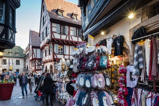 La rue des Marchands à Colmar