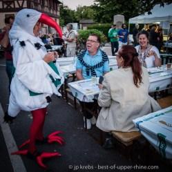 Les lavandières de Scherwiller. Théâtre de rue en été: les deux derniers vendredis de juillet et les deux premiers vendredis d'août.