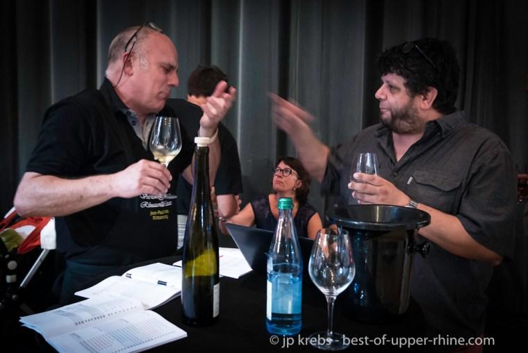 Yves Beck avec Bernd Koppenhoefer