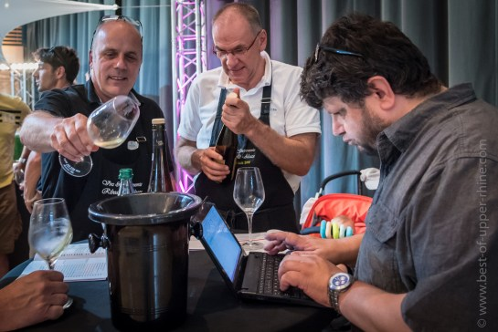 Yves Beck déguste les grands vins de Ribeauvillé
