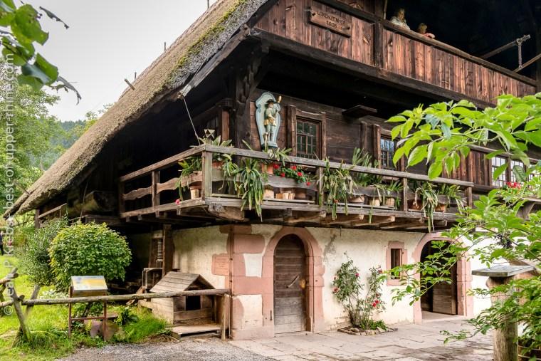Ferme traditionnelle, Ecomusée de la Forêt Noire, Gutach Vogtsbauernhof, Allemagne