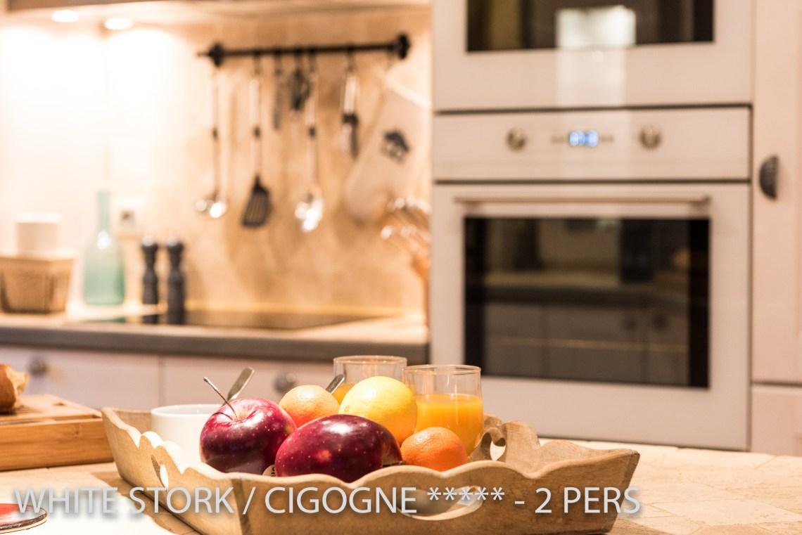 La Cigogne à riquewihr - appartement 5 étoiles déco cuisine