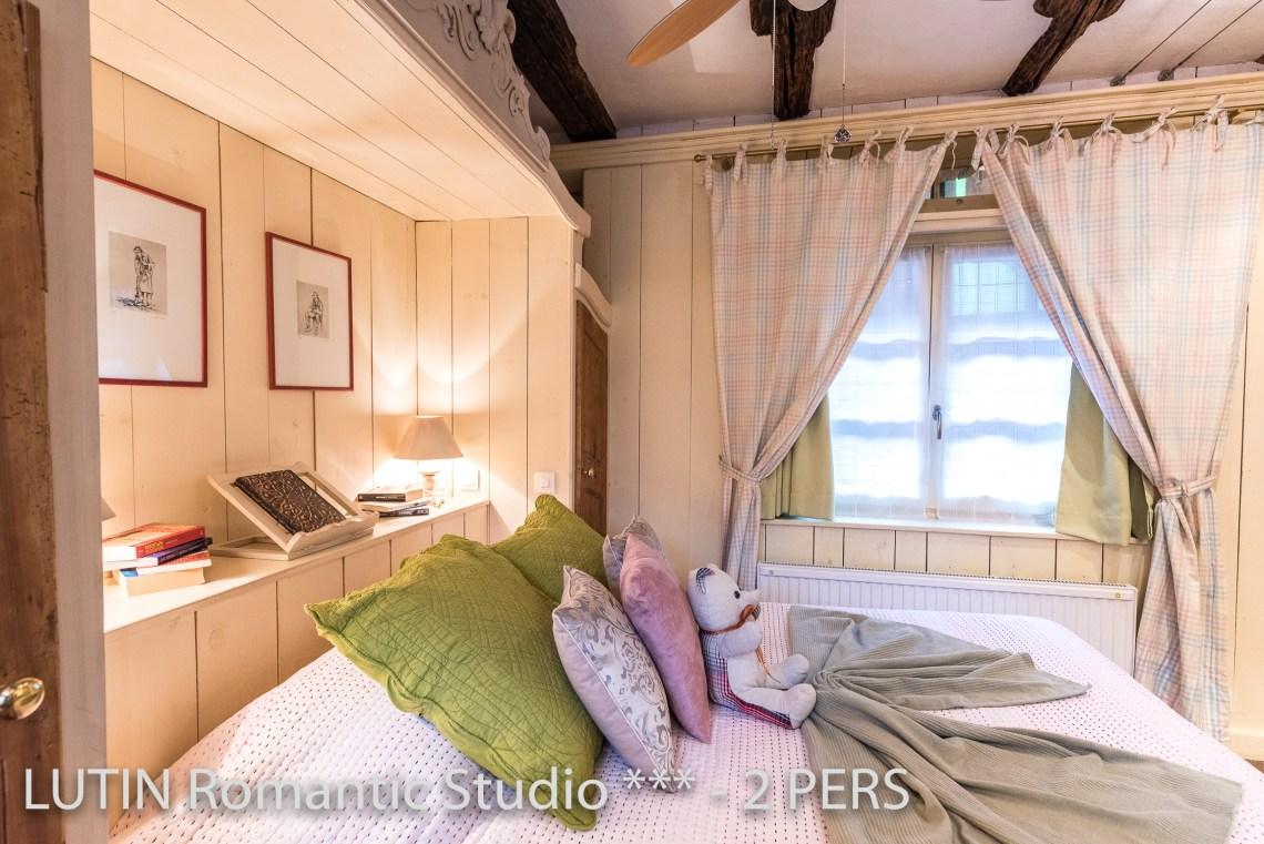 Le Lutin à riquewihr - appartement 3 étoiles le lit