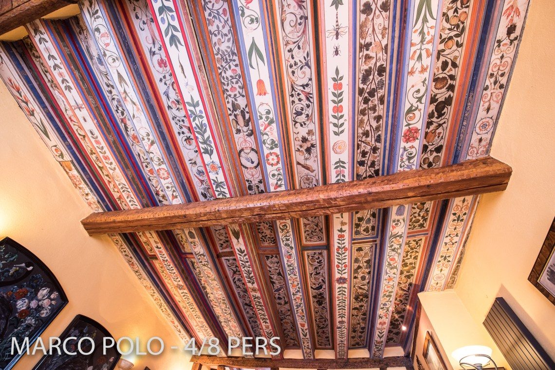 Le Marco Polo à riquewihr - appartement 5 étoiles plafond magnifique