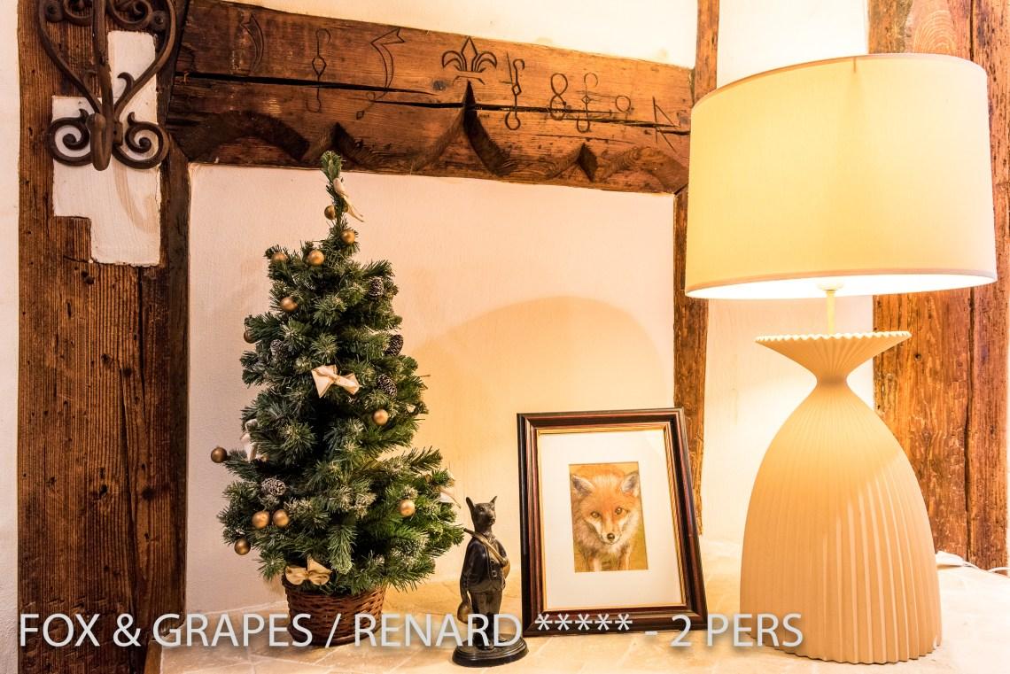 Le Renard et les Raisins à riquewihr - appartement 5 étoiles déco