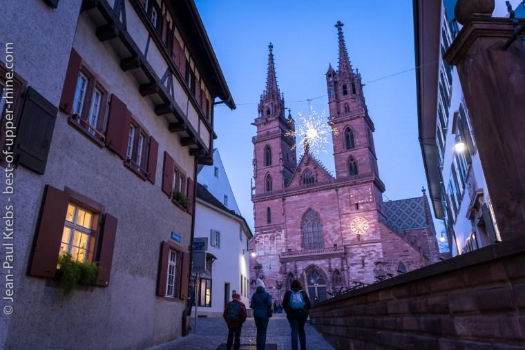 Vers la cathédrale de Bâle