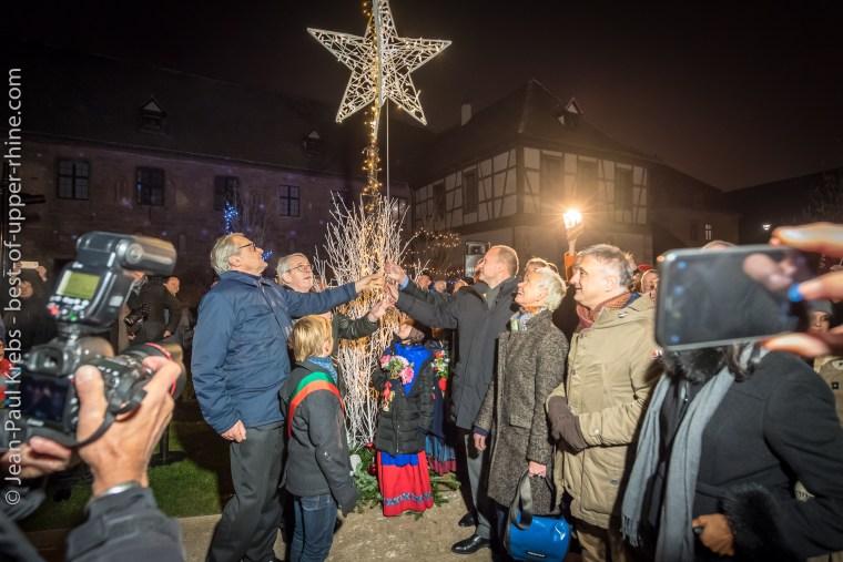 Inauguration des marchés de Noël de Colmar, 2018