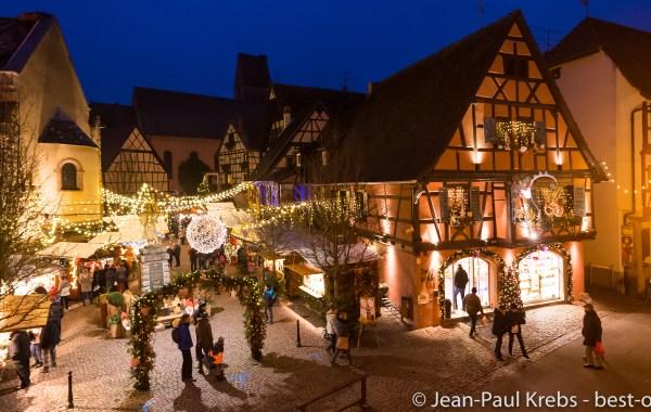 Au marché de Noël d'Eguisheim en Alsace