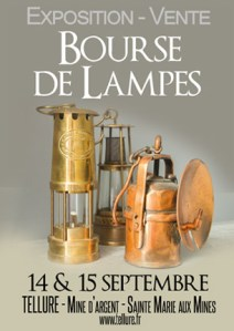 Bourse de Lampes à Tellure le 14 & 15 Septembre