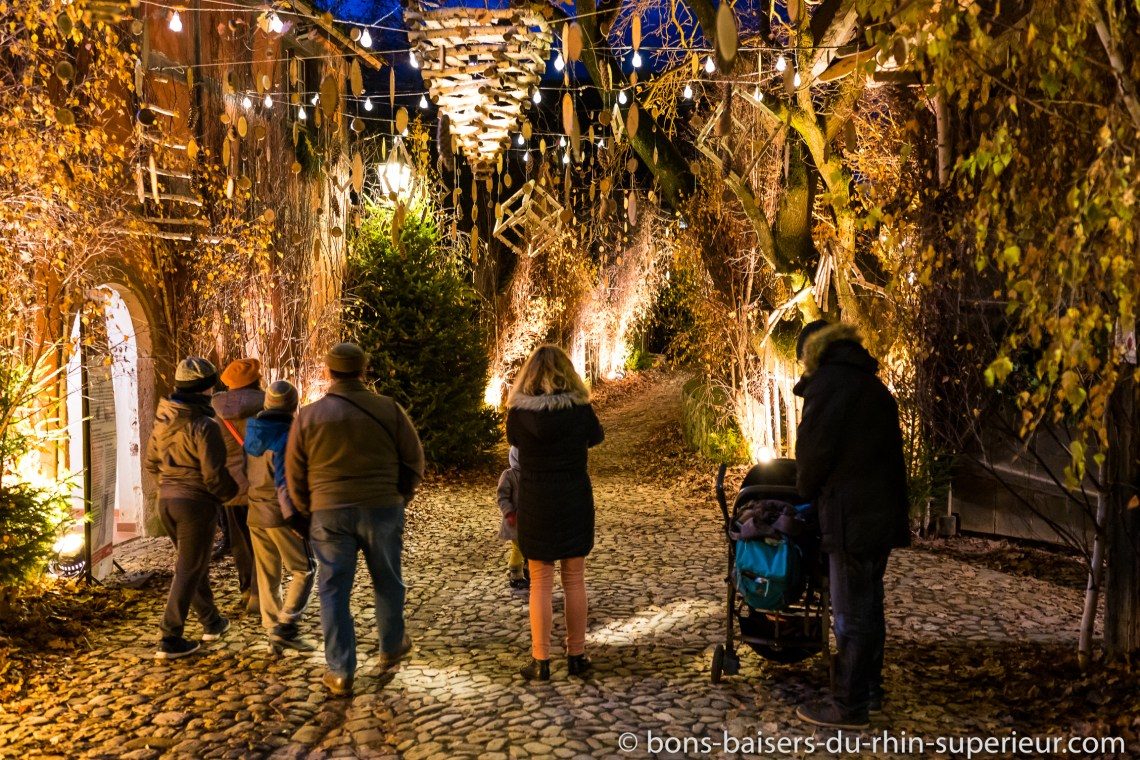 Le marché de Noël à l'éco musée d'Alsace
