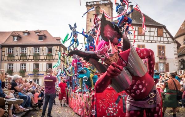 Ribeauvillé grand défilé du Pfifferdaj 2017