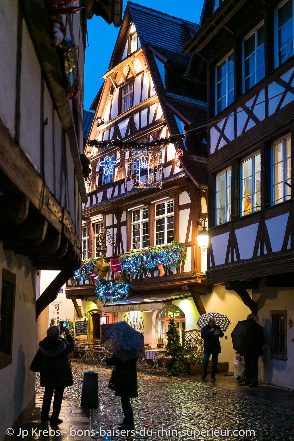 Marché de Noël de la Petite France à Strasbourg
