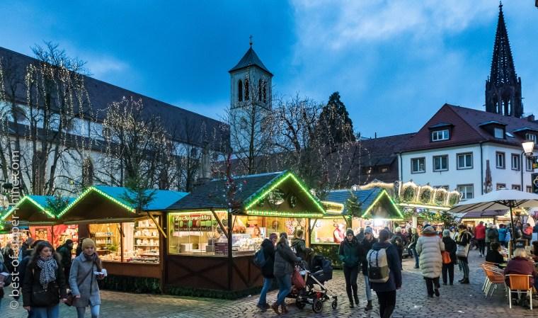 Le marché de Noël de Freiburg am Brisgau