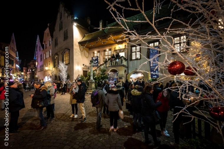 Le Koifhus à Colmar à la période de Noël