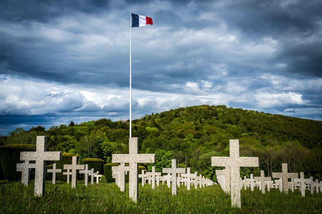 Le Hartmannswillerkopf, cimetière de la première guerre mondiale