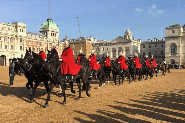 Horse Guards Parade La Relève De La Garde à Cheval