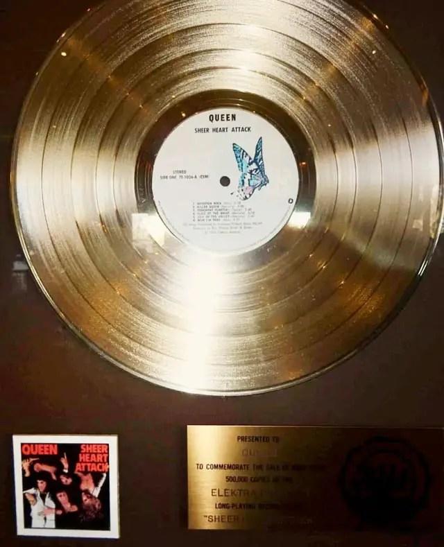 Queen-disque-or