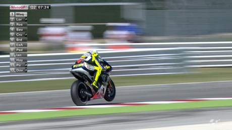 Rossi at Misano