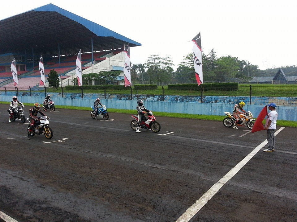 mx moncer di Fun race sentul