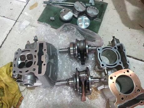 Oprek mesin CB 150 R
