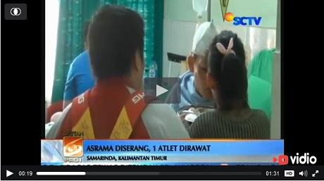 Brimob Serang Asrama Atlet