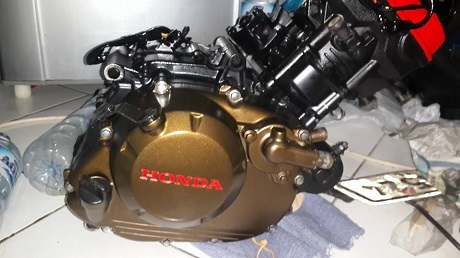 K 15 Red Gold-BLack engine